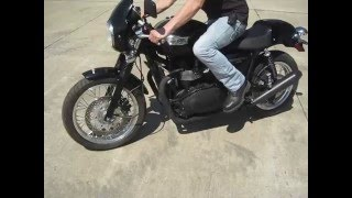3. 2008 TRIUMPH THRUXTON 900 $3600 FOR SALE WWW.RACERSEDGE411.COM