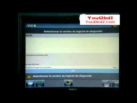 how to use VCS Vehicle Communication Scanner Interface with all connectors for youobd2 com