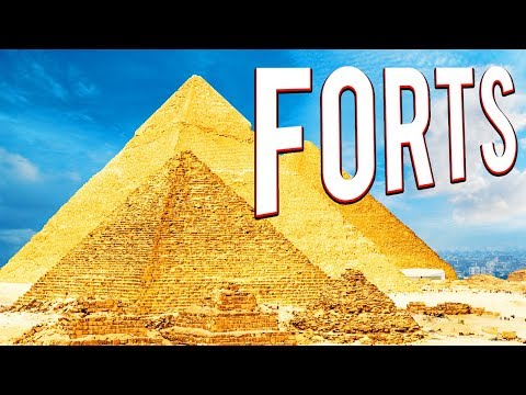 BATTLE OVER EGYPT! PYRAMID FORTS GAME - FORTS MULTIPLAYER