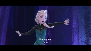 "Disney's Frozen - ""Let It Go"" Multi-Language Full Sequence - YouTube"