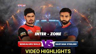 Pro Kabaddi 2018: Bengaluru Bulls vs Haryana Steelers - Match Highlights [ENGLISH]