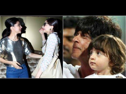 Sonam & Deepika Avoid Each Other | Shahrukh Imitat