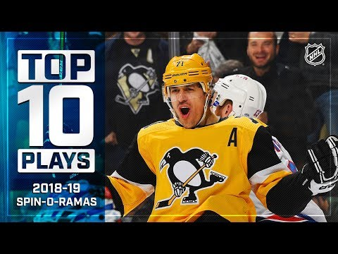 The Best Spin-o-rama Plays from the 2018-19 NHL season