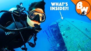 What's Inside the FBI's Most Wanted Shipwreck?! by Brave Wilderness