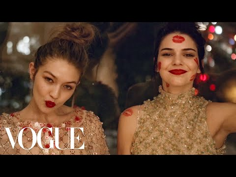 Kendall Jenner and Gigi Hadid's Sleepover Party in...