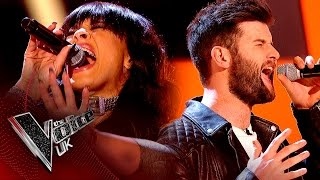 Michelle John vs. Tim Gallagher - 'Nowhere To Run' | The Voice UK 2017