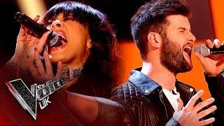 Michelle John vs. Tim Gallagher - 'Nowhere To Run' | The Voice UK 2017