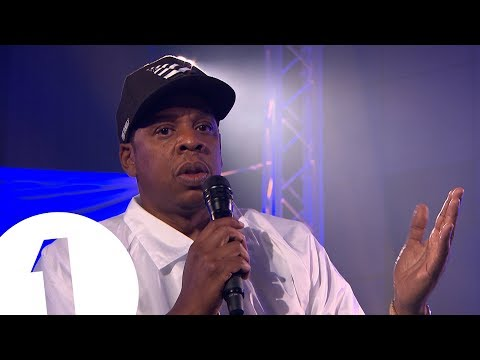 Jay Z speaks to Clara Amfo ahead of his BBC Radio 1 Live Lounge
