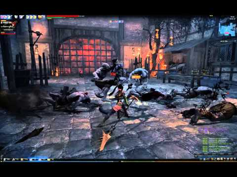Mabinogi Heroes (Vindictus) – Lynn Gameplay (Lv30)