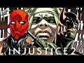 Injustice 2 Comic Book Chapter 2 - Batman Kills?! Red Hood Jason Todd Theory!
