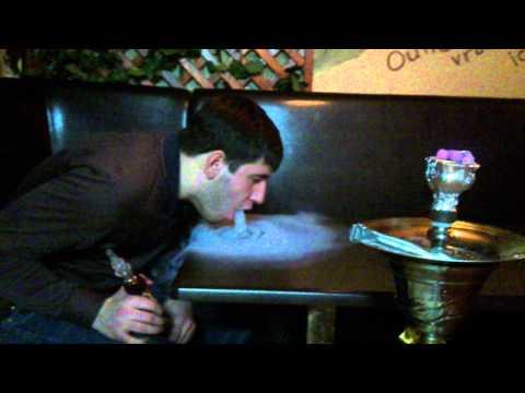 Как сделать дымовой водопад