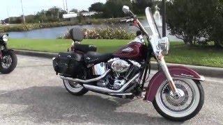 3. Used 2009 Harley Davidson FLSTC Heritage Softail Classic