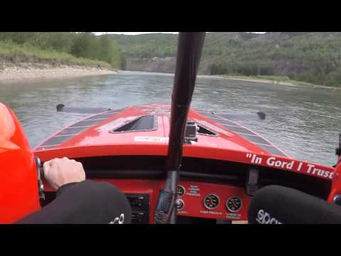 Jet Boat Racing On The River