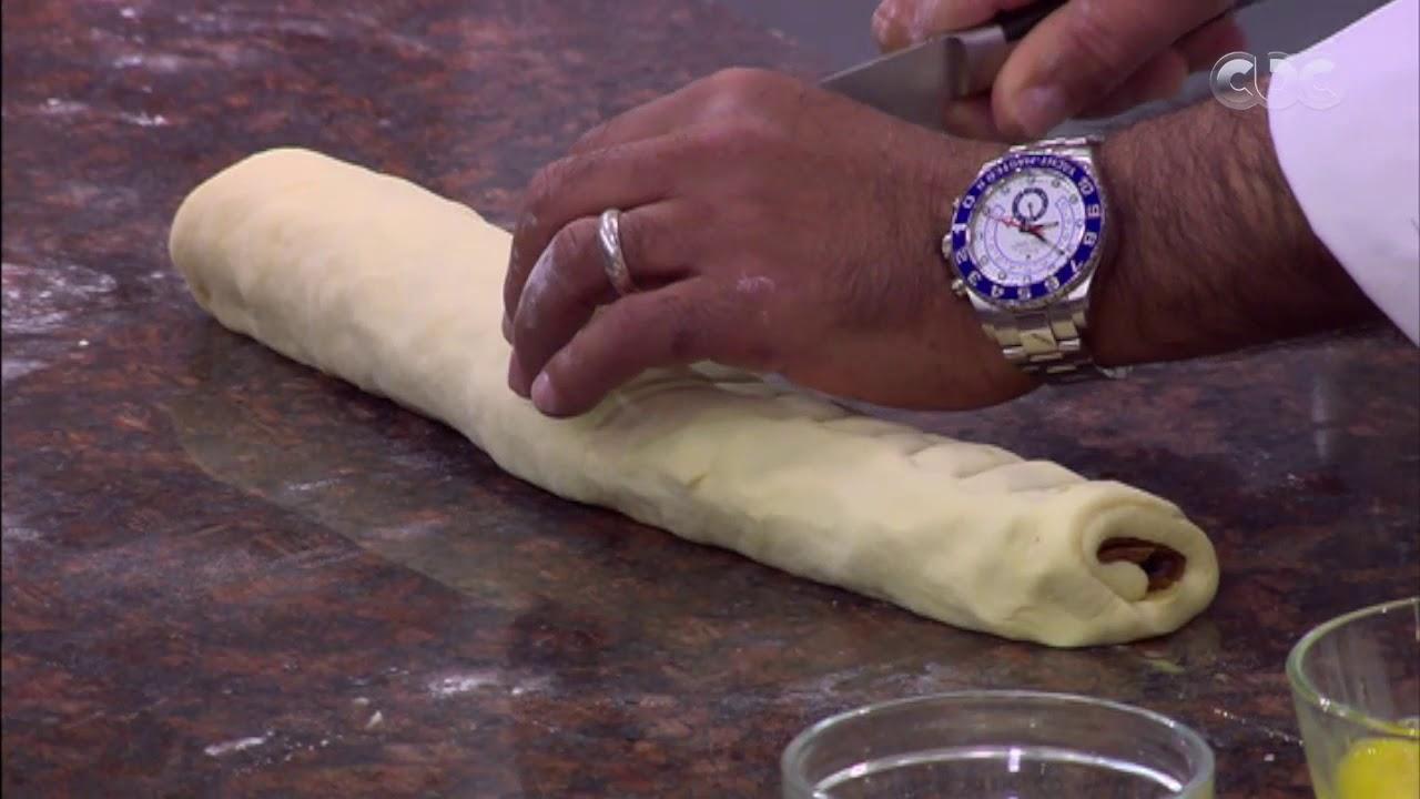 من مطبخ أسامة   طريقة عمل قرص عجوة