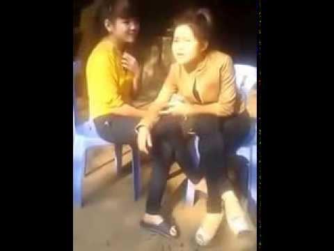Khi mấy em gái hút thuốc lào bá đạo :-ss