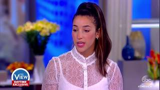 Aly Raisman on Larry Nassar's sentencing, why she spoke out | The View