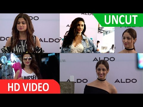UNCUT I Yami Gautam I Unveiling Aldo Fall'16 Collection A Unique Initiative By Artist Jahangir Jani