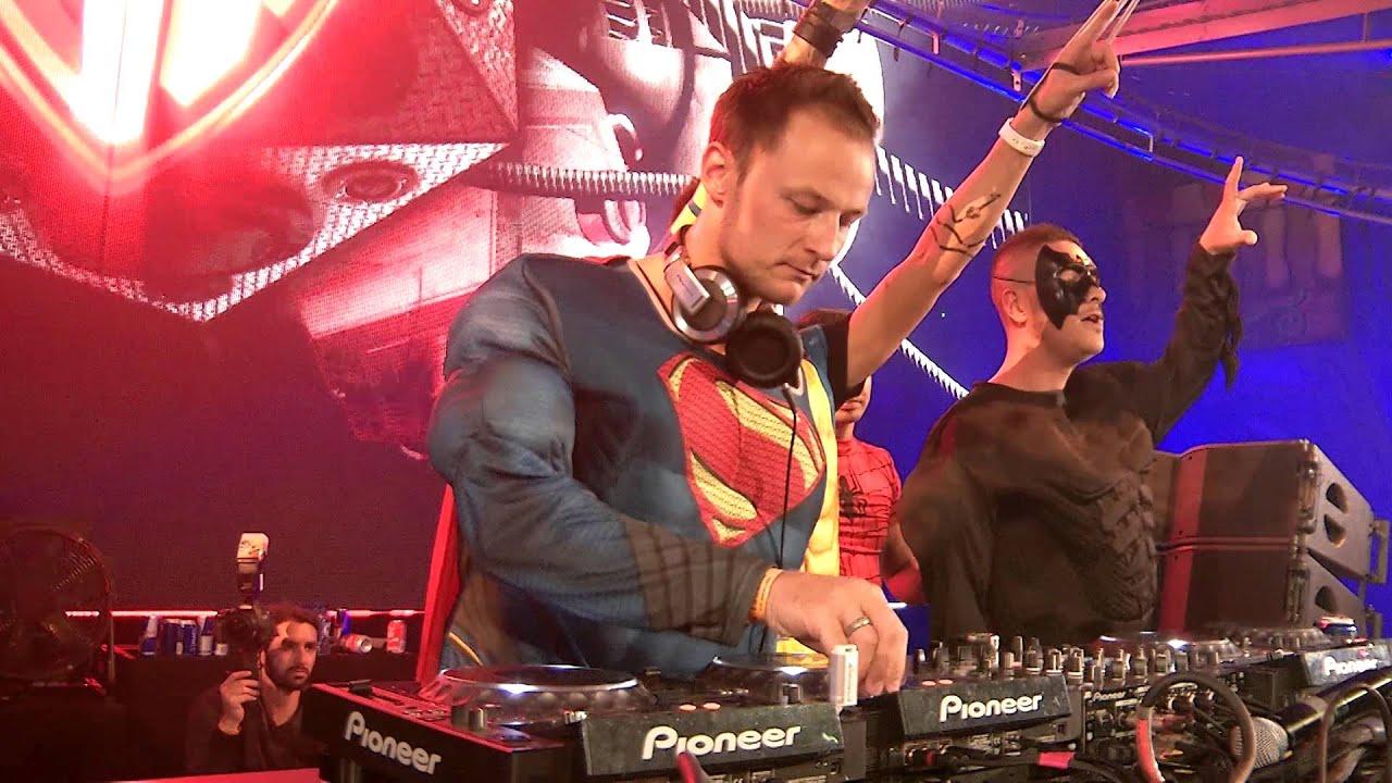 Superheroes (Laidback Luke, Yves V, Blasterjaxx) - Live @ Tomorrowland Belgium 2015