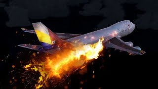 Video Boeing 747 on Fire Explodes Mid-Air | Asiana Airlines Flight 991 | 4K MP3, 3GP, MP4, WEBM, AVI, FLV November 2018