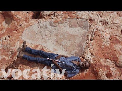 Maailman suurin dinosauruksen jalanjälki on löydetty Australiasta – katso video