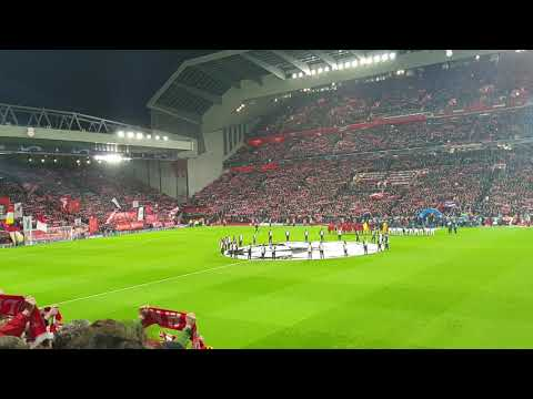 YNWA Liverpool Vs Bayern Munich