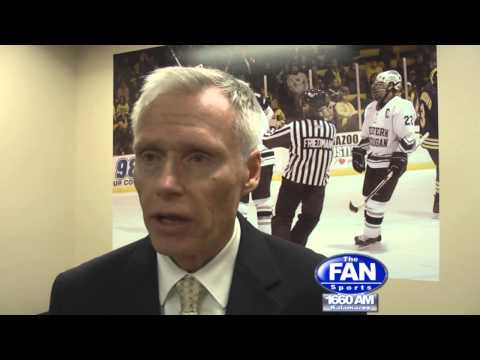 WMU Hockey HC Andy Murray talks about the Broncos 5-1 and sweep of Colorado College