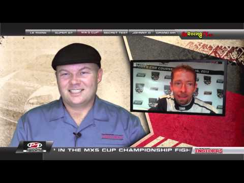 Christian Szymczak and Elliott Skeer Interviewed on The Racing Insiders