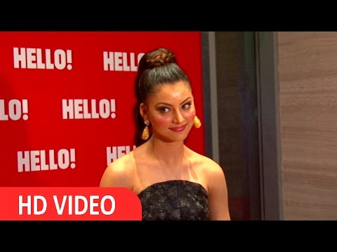 Urvashi Rautela At Launch Of Hello Magazine