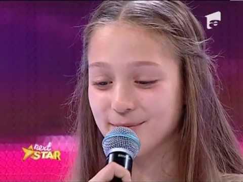 Next Star – Francesca Nicolescu a aduso pe Celine Dion pe scena Next Star! [23 MAI 2013]