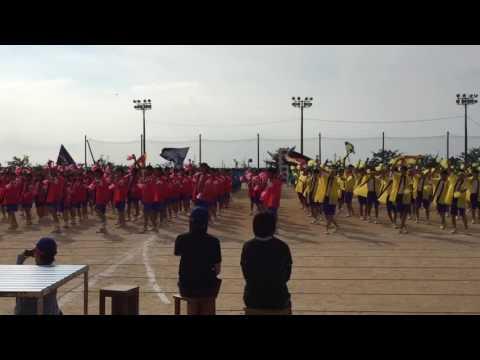 20160915 寺井中学校 体育祭 よさこいソーラン総踊り