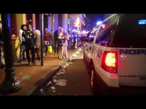 Sweep of Bourbon Street marks end of Mardi Gras