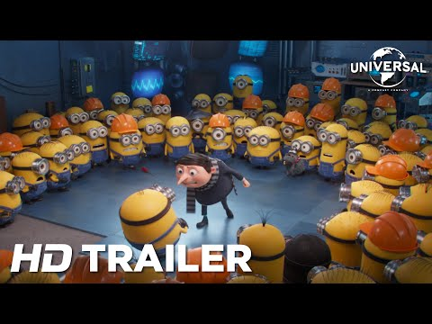 Minions 2: The Rise of Gru – Official Trailer (Universal Pictures) HD