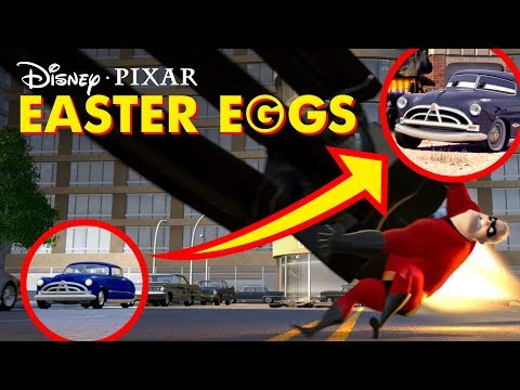 Pixar Movie Easter Eggs and Secrets