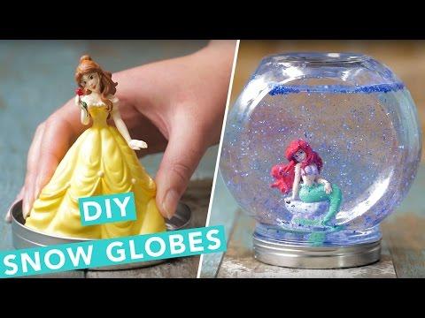 DIY Disney Princess Snow Globes | Nailed It