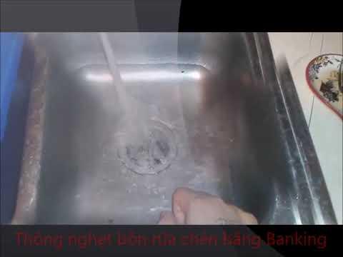 Thông nghẹt bồn rửa chén như thế nào là hiệu quả