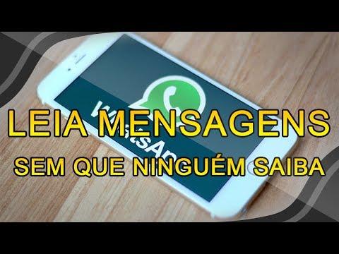 Como LER mensagens do WhatsApp sem que a outra pessoa saiba - SEM APLICATIVOS!