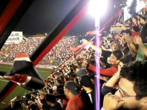 La 12 Alajuelense - Semifinal LDA 4 vs Heredia 0- Goleada del Campeon - La 12 - Alajuelense