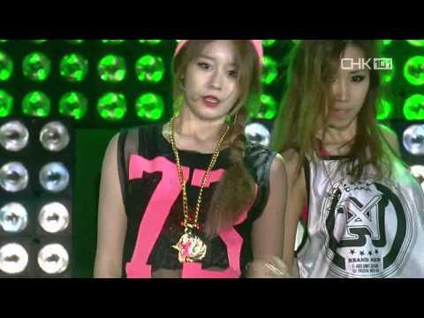 [HD-LIVE] 130512 TARA N4 – Jeon Won Diary @ SBS Inkigayo