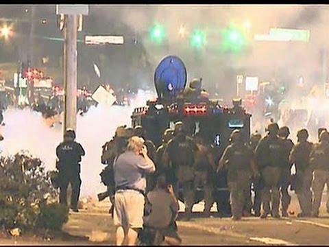 Police: Gunfire, Molotov Cocktails in Ferguson
