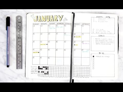 2017 Bullet Journal Setup & Flip Through   How to Bullet Journal   Miss Louie