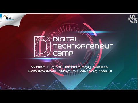Digital Technopreneur Camp 2020 BINUS@Malang