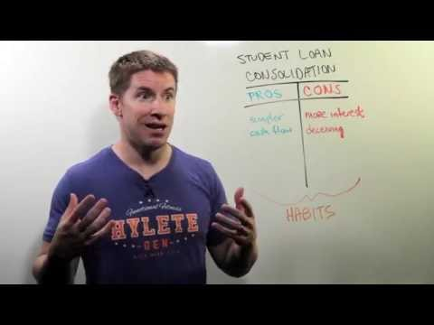 Student Loan Consolidation | Whiteboard Wednesday: Episode 86