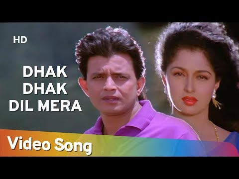 Dhak Dhak Dil Mera Karne - Aadmi (1993)