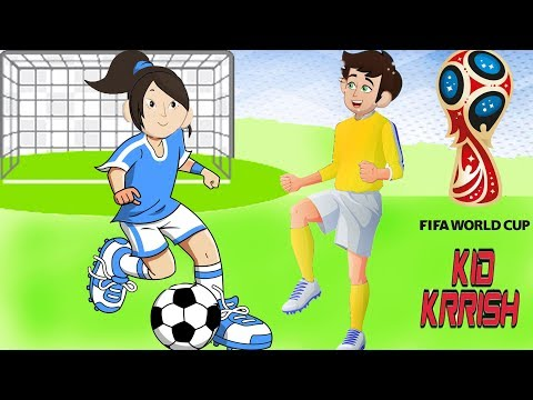 Kid Krrish English Episodes | Soccer Match! Krrish's 2018 Football World Cup | Cartoon For Kids