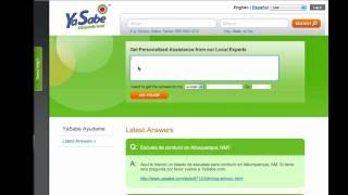 YaSabe Hispanic Directory YouTube video
