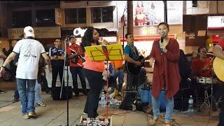 mendut yang-penonton berbakat feat Redeem buskers happy dangdut