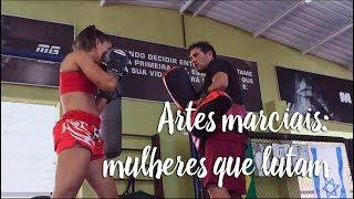 Artes marciais: mulheres que lutam