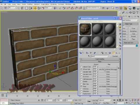 Materiales y mapeado modi 3d for Maestria en arquitectura de interiores