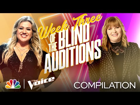 The Best Performances From the Third Week of the Blind Auditions - The Voice 2020