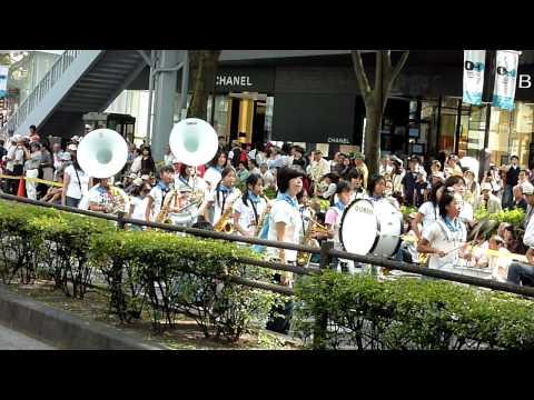 TOKYO2016招致決定応援大パレード ◆ 大森第四小学校吹奏楽